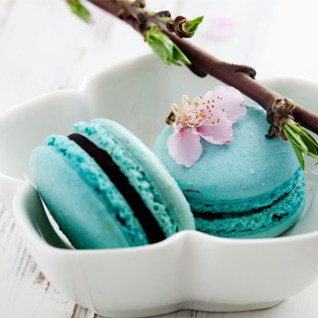 Tea Flavored Macaroons